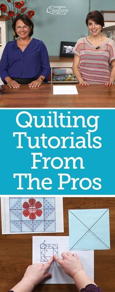 Awesome quilting tutorials and videos to help you make your quilts better every time! Learn new techniques through videos and articles delivered right to your email inbox every week! Quilting For Beginners, Sewing Projects For Beginners, Quilting Tutorials, Quilting Projects, Quilting Designs, Quilting Tips, Quilting Fabric, Hand Quilting, Knitting Patterns