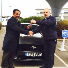 Sachin Salu was a particularly satisfied customer as he picked up his new Pony car from Paul Cooper at our FordStore. In fact, he loved it so much that Mr Salu and his #16Plate Ford Mustang had done over 500 miles in just 2 to 3 days and he wanted a valet service!
