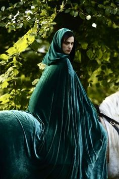 The woman in green. The Morgana in my story is a bit different from the Morgana in King Arthur.