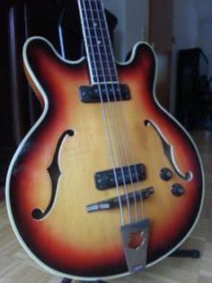 Vintage Semiakustik-Bass von Musima. DDR Premium Halbakustik in Hannover - Herrenhausen-Stöcken | Musikinstrumente und Zubehör gebraucht kaufen | eBay Kleinanzeigen