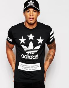 Image 1 of adidas Originals Stars T-Shirt