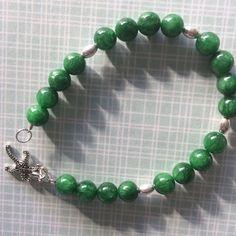 Sale!Beautiful Christmas Green Bracelet