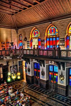 Sirkeci Station, Istanbul, Turkey A railway station so tastefully done. Sirkeci Station in Istanbul. #travelistanbul #tinted #colourful #traveldestinations2015