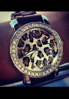 I need a new watch, this one will do (: