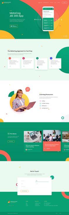 png by Rez Felix Ui Design, Layout Design, Ecommerce Website Design, Web Layout, Web Design Inspiration, Show And Tell, Innovation, Education, Digital