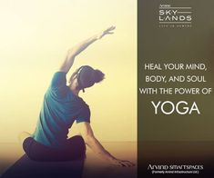 Step away from worries of life by indulging in activities like meditation, yoga, and working out, which aim to bring you closer than ever to a stress-free life.  Click here to get more information on amenities -http://www.arvindsmartspaces.com/about_skylands.php  #ArvindSmartSpaces #LuxuryApartmentsBangalore#RealEstateBangalore #ArvindSkylands