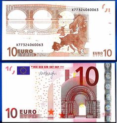Graphic Design Class Assignment Inspiration: New 10 Euro Note