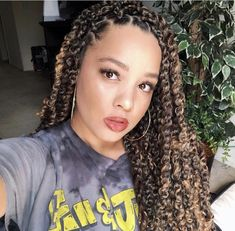 10 Passion Twist Styles To Rock Right Now – Essence - Natural Hair Styles Box Braids Hairstyles, Twist Hairstyles, Cool Hairstyles, Wedding Hairstyles, Black Hairstyles, Hairstyle Ideas, Hair Ideas, Medium Hairstyle, Updo Hairstyle