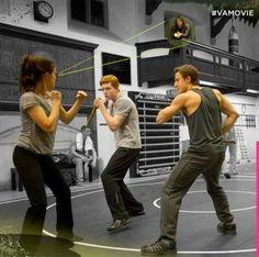 It's amazing Rose (Zoey Deutch) can focus with Dimitri (Danila Kozlovsky) around. #VAMovie - @VAOfficialMovie