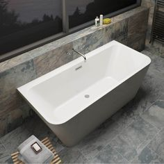 Mode Carter back to wall bath 1700 x 750 offer pack New Bathroom Ideas, Family Bathroom, Bathroom Interior, Bathroom Inspo, Modern Shower, Modern Bathroom, Small Bathroom, Old Bathrooms, Upstairs Bathrooms