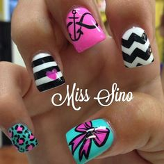 Credit to @misssino Instagram photo by @_nails_post_ via ink361.com