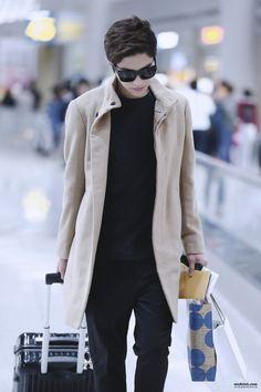 Airport is your runway now, L Block B Park Kyung, L Infinite, Kento Nakajima, Kim Myung Soo, Myungsoo, Dear Future Husband, Lee Sung, Cute Korean, Asian Fashion