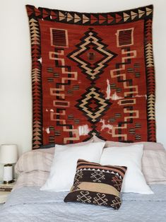 Alice Saunders designs and crafts beautiful leather and canvas goods. This New England maker embodies an innate sense of style that extends to all aspects of life, home and decor. Cozy Bedroom, Bedroom Decor, Bedroom Interiors, Bedroom Ideas, Bedroom Inspiration, Textiles, Crafts Beautiful, Southwest Style, Southwest Quilts