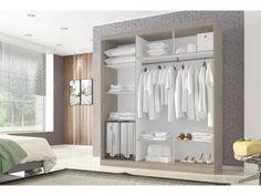 De R$ 817,35 POR R$ 539,99   Guarda-roupa Casal 3 Portas de Correr - Poliman Móveis Madri com as melhores condições você encontra no Magazine Promovemketem. Confira!