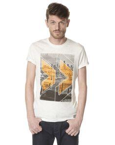 CELIO Tee-shirt photoprint 100% coton