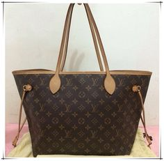 Cofortable and cheap Neverfull Purse!Just $227.99 Today. #Neverfull #Fashion #Louis #Vuitton #Handbags Wow__Worth it!