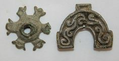 Viking belt decorations