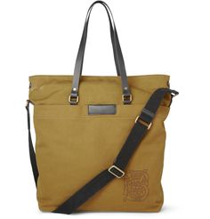Arley Canvas and Leather Tote - Burberry London
