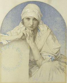 Alfons Maria Mucha (24 July 1860 – 14 July 1939)