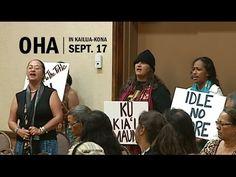 OHA in Kona: Kalani Flores, Pua Case and the Mauna