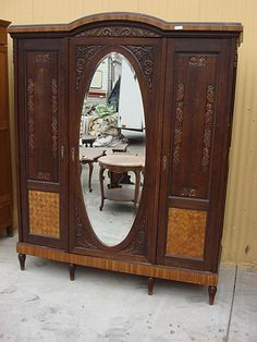 french antique hand carved armoire. 18th C. Heavily Carved Antique French Normandy Wedding Armoire | Normandy, Armoires And Hand