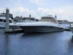 2006 Sea Ray 52 Sundancer.  Twin diesel engines, 1320 HP! Only 840 hours with hydraulic jet ski lift.  Nicely Loaded.
