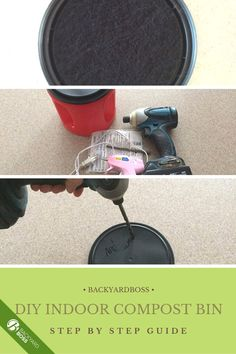 This is a simple twenty-minute DIY compost bin-- a family-friendly project for when your stuck inside. The compost can be use for all sorts of great indoor planting projects.