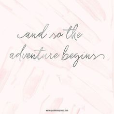 Let the adventure begin.. NOW . #timeforanadventure #letitbegin #getexcited #yougotthis #sparklesnsprouts