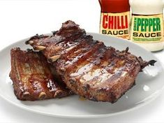 Barbecued Pork Spare Ribs Stock Photo (Edit Now) 115478152 Ribs On Grill, Russian Recipes, Stuffed Peppers, Baking, Food, Crickets, Ribs On The Grill, Stuffed Pepper, Bakken