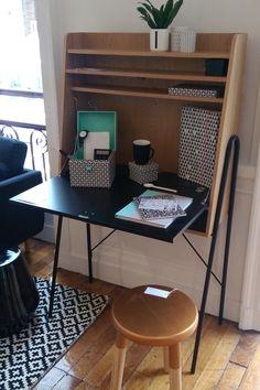 La Redoute Intérieurs with Vincent Darré, Sam Baron et la Gallery S. Space Saving Desk, Handmade Decorations, Home Office, Design Trends, Corner Desk, Furniture Design, Tables, Designers, New Homes