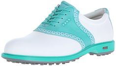 ECCO Womens Classic Hybrid II Golf Shoe WhiteCapri Breeze 37 EU665 M US -- Want additional info? Click on the image.