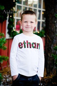 Christmas Name Shirt