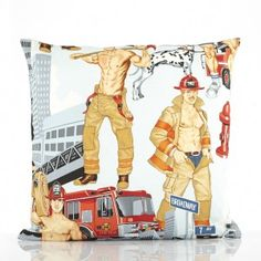 Firemen, Special Events, House Warming, Cushions, Ocd, Libra, Cover, Gifts, Throw Pillows