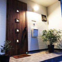 Entrance/ポスト/玄関マット/表札/真鍮/玄関ドア...などのインテリア実例 - 2017-11-06 13:02:37 RoomClip (ルームクリップ)