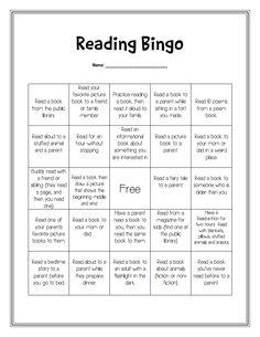 Något man kan ha eleverna att samla på sig under en längre period. Reading Bingo, Reading Club, Reading At Home, 3rd Grade Reading, Reading Skills, Teaching Reading, Homework Bingo, Reading Homework, Reading Resources