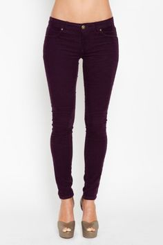 Blank NYC Corduroy Skinny Jeans $82. Tried these on in grey and they are so comfy! NEED!