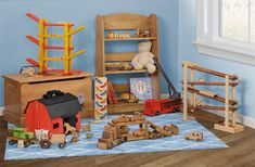 Solid Wood Toys that are American Made Using Eco Friendly Finishes.