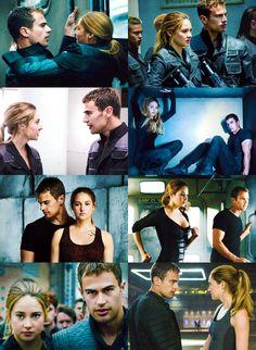 Divergent, Sheo, Tris Eaton, Tobias Prior, Love it! Divergent Memes, Divergent Hunger Games, Divergent Fandom, Divergent Trilogy, Divergent Theo James, Tris And Tobias, Tris Und Four, Tris Prior, Divergent Insurgent Allegiant