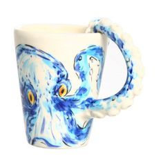 Octopus Mug, £26, now featured on Fab.