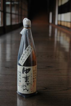 Japanese Sake bottle 日本酒
