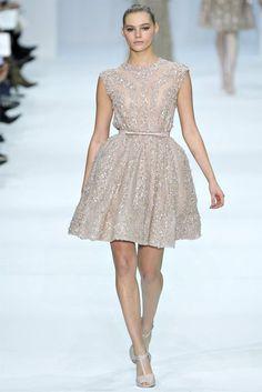 elie saab dresses | 2012: ELIE SAAB Haute Couture Spring Summer 2012 - Ivory Short Dress ...