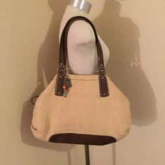 FINAL PRICE ❤️ Large Fossil bag Beautiful Fossil Bag Fossil Bags Totes