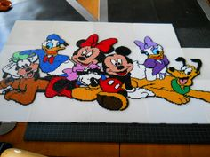 Mickey Mouse & Friends Hama mini beads by lise21