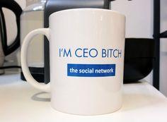 La tasse du boss, pas touche.