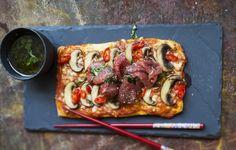 Bangkok express -pizza, resepti – Ruoka.fi