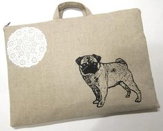 pug laptop bag - i love this!