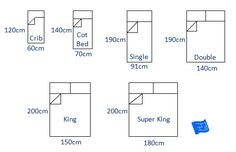 Best Bed Sizes Us King Bed Size Queen Bed Size Single Bed 400 x 300