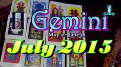 Gemini July 2015 Intuitive Astrology & Tarot Reading