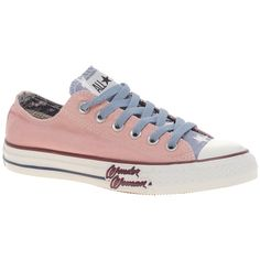 """Pink Converse """"Wonder Woman"""" shoes? Yes please!"""