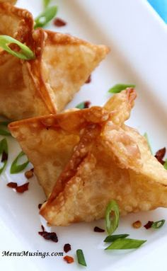 SUPER EASY Crab Rangoons (or bake them at 425 for 8 to 10 minutes)